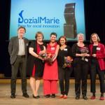 Verleihung der Sozialmarie 2014
